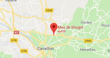 Mas de Shogol Located at the heart of Provence